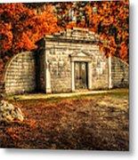 Mausoleum Metal Print
