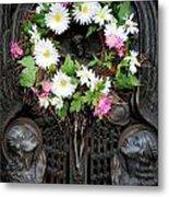 Mausoleum Mosaic Metal Print