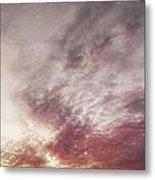 Mauve Skies Metal Print