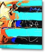 Max Stars And Stripes In Inverted Colors Metal Print