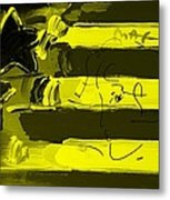 Max Stars And Stripes In Yellow Metal Print