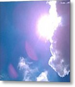 Maxfield Parrish Blue Clouds Over Lagrange Metal Print