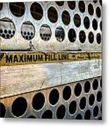 Maximum Fill Metal Print