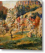 May In The Mountains Metal Print