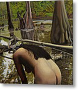 May Morning Arkansas River  2 Metal Print