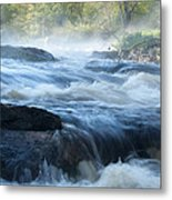 May Morning On The Pawcatuck Metal Print