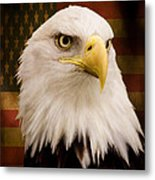 May Your Heart Soar Like An Eagle Metal Print by Jordan Blackstone
