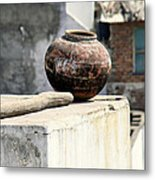 May Your Pots Be Filled With Cheer And Happiness Metal Print