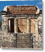 Mayan Palace Metal Print