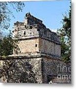 Mayan Ruin At Chichen Itza Metal Print