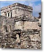 Mayan Tulum Metal Print