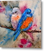 Maybe She's A Bluebird Metal Print