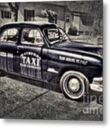 Mayberry Taxi Metal Print