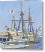 Mayflower At Birth Metal Print