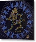 Maypole Dance Metal Print
