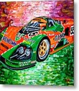 Mazda 787b.1991 Le Mans Winner. Metal Print