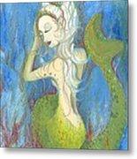 Mazzy The Mermaid Princess Metal Print