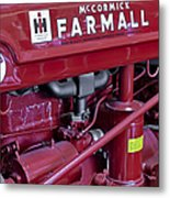 Mc Cormick Farmall Super C Metal Print by Susan Candelario