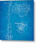 Mccarty Gibson Les Paul Guitar 2 Patent Art 1955 Blueprint Metal Print