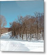 Mccauley Mountain Ski Area Vii- Old Forge New York Metal Print