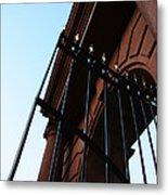 Mcclellan Gate In Arlington Metal Print