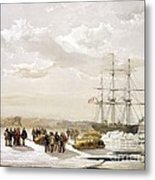 Mcclure Arctic Expedition, 1850s Metal Print