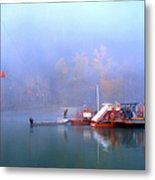Mcclure Ferry Metal Print by Theresa Tahara