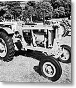 Mccormick Deering Farmall F12 Classic Tractor During Vintage Tractor Rally At Glenarm Castle Open Day County Antrim Northern Ireland Metal Print