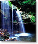 Mccoy Falls Birch River Metal Print