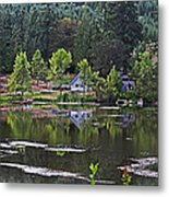 Mcintosh Lake In Washington Metal Print