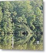 Mckamey Lake Calm Reflections Metal Print