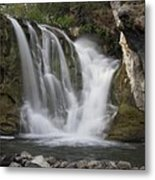 Mckay Crossing Falls In Eastern Oregon Metal Print