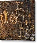 Mckee Ranch Petroglyphs Metal Print