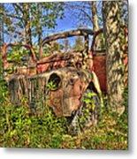 Mcleans Auto Wrecker - 1 Metal Print