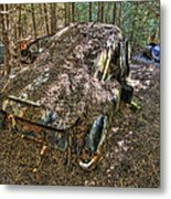 Mcleans Auto Wrecker - 12 Metal Print