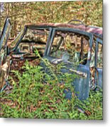 Mcleans Auto Wrecker - 4 Metal Print