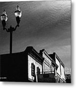 Mcminnville Skyline Metal Print by   Joe Beasley