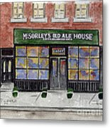 Mcsorley's Old Ale House Metal Print