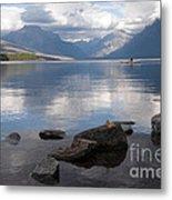 Mcdonald Lake Metal Print