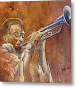 Me And My Trumpet Metal Print