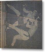 Me Fighting Bill Waits 1954 Metal Print