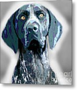 Me Good Dog Metal Print by Jo Collins