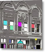 Meaders Theater 1919 Washington D.c. 1919-2010 Metal Print