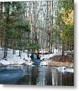 Meadow Brook Pond 1 Metal Print