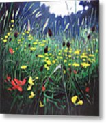 Meadow Glory Metal Print
