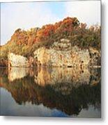 Mead's Quarry In Autumn Metal Print