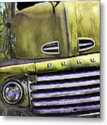 Mean Green Ford Truck Metal Print