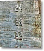 Measure Of Draft Metal Print