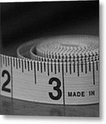 Measuring Up  Metal Print