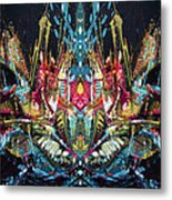 Mechanical 572  11 Metal Print